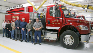 Himrod honors fire department members