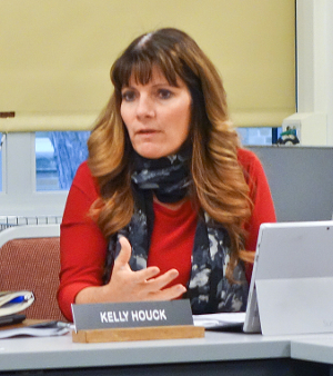 Superintendent updates board: health resources, cyber risks, sports
