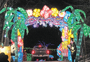 Winery light display set to stay