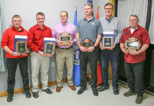 Yates County honors first responders