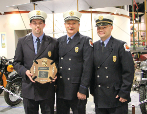Bason is 'Top Responder' and 'Fireman of the Year'