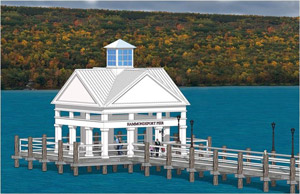 New pier tops Urbana waterfront plans