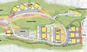 Starkey project plans for 11 resort units