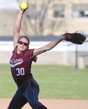 Indians softball loses, 17-0
