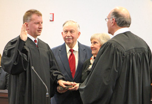 PHOTO GALLERY: Ceremony marks beginning of new Yates judge