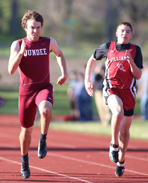 Dundee track hosts invitational