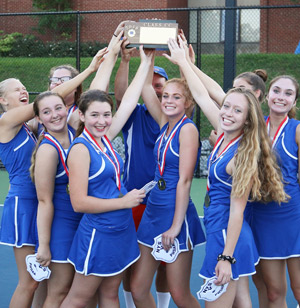 Penn Yan tennis team wins first sectional crown