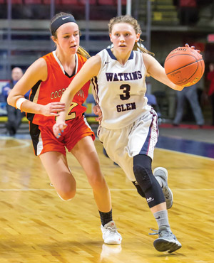 Lady Senecas defeat Cooperstown Hawkeyes, 60-49