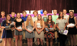 Schools hold ceremonies for 2015-16 athletes