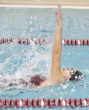 Odessa swimmers fall