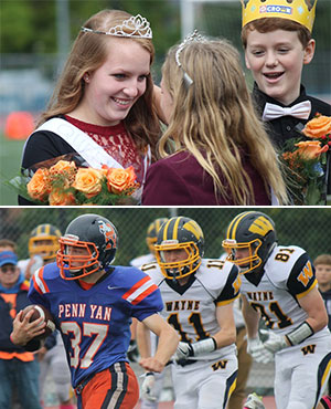 Penn Yan names Griffin homecoming queen