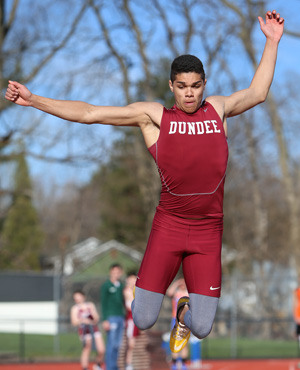 Penn Yan, Dundee track teams compete