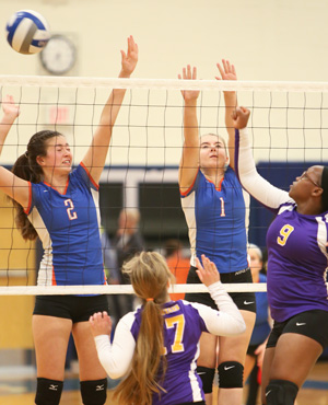 Mustangs win opening sectional game