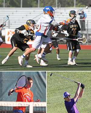 Penn Yan lacrosse wins, tennis falls; Lakers golf beats Campbell