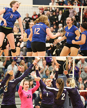 PHOTO GALLERIES: Penn Yan, Hammondsport win volleyball titles