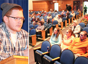Speakers address problems with heroin use