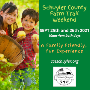 Farm trail event is this Saturday and Sunday